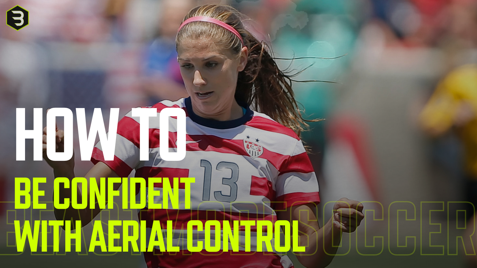 How to be more confident in soccer