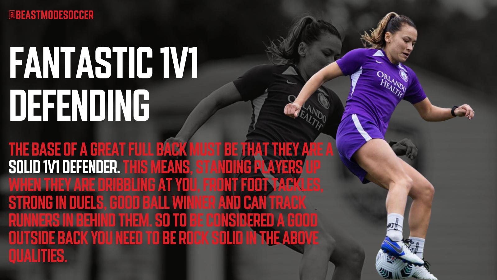 1v1 Defending in soccer