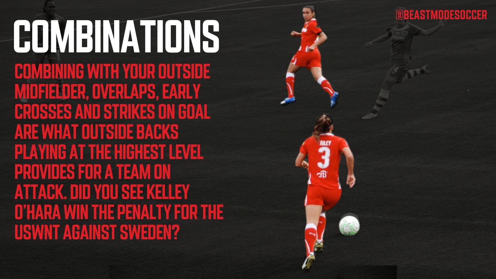 Combine with your midfielder