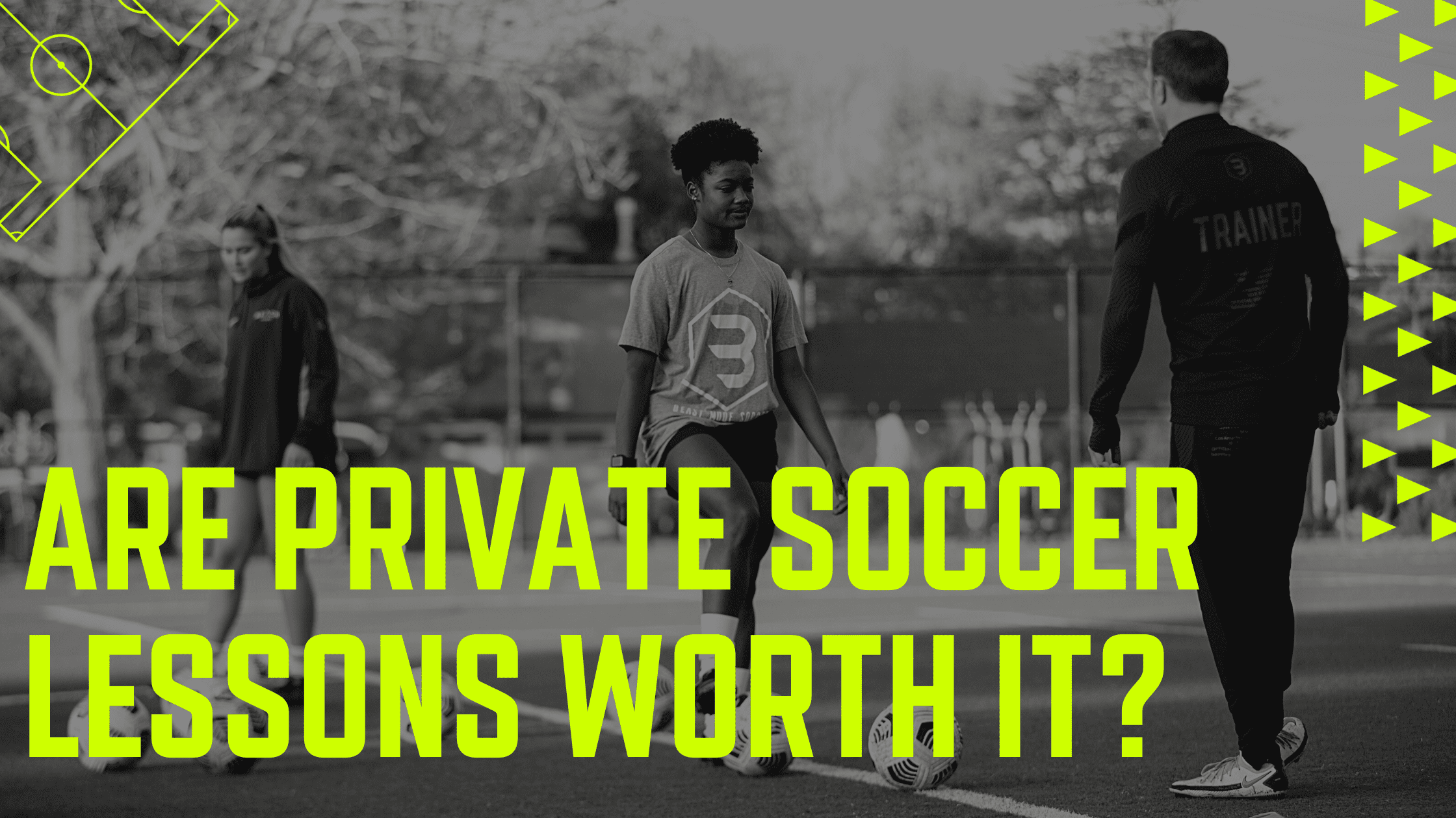 Are private soccer lessons worth it?