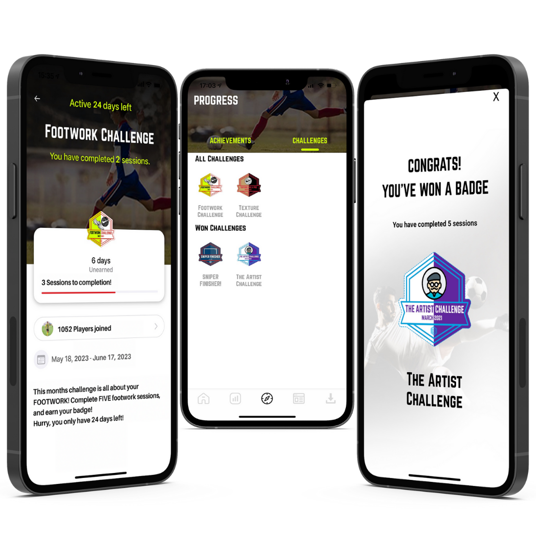 The Best Individual Soccer Training App