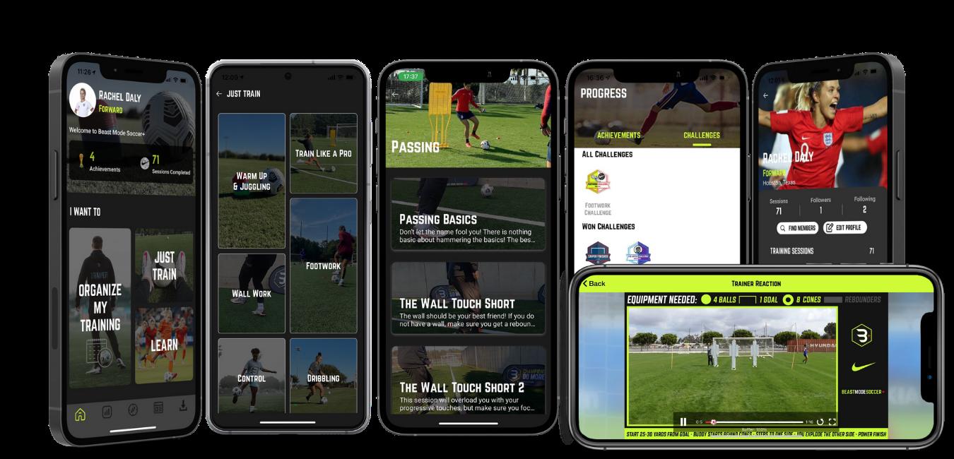 Beast Mode Soccer Plus Soccer App