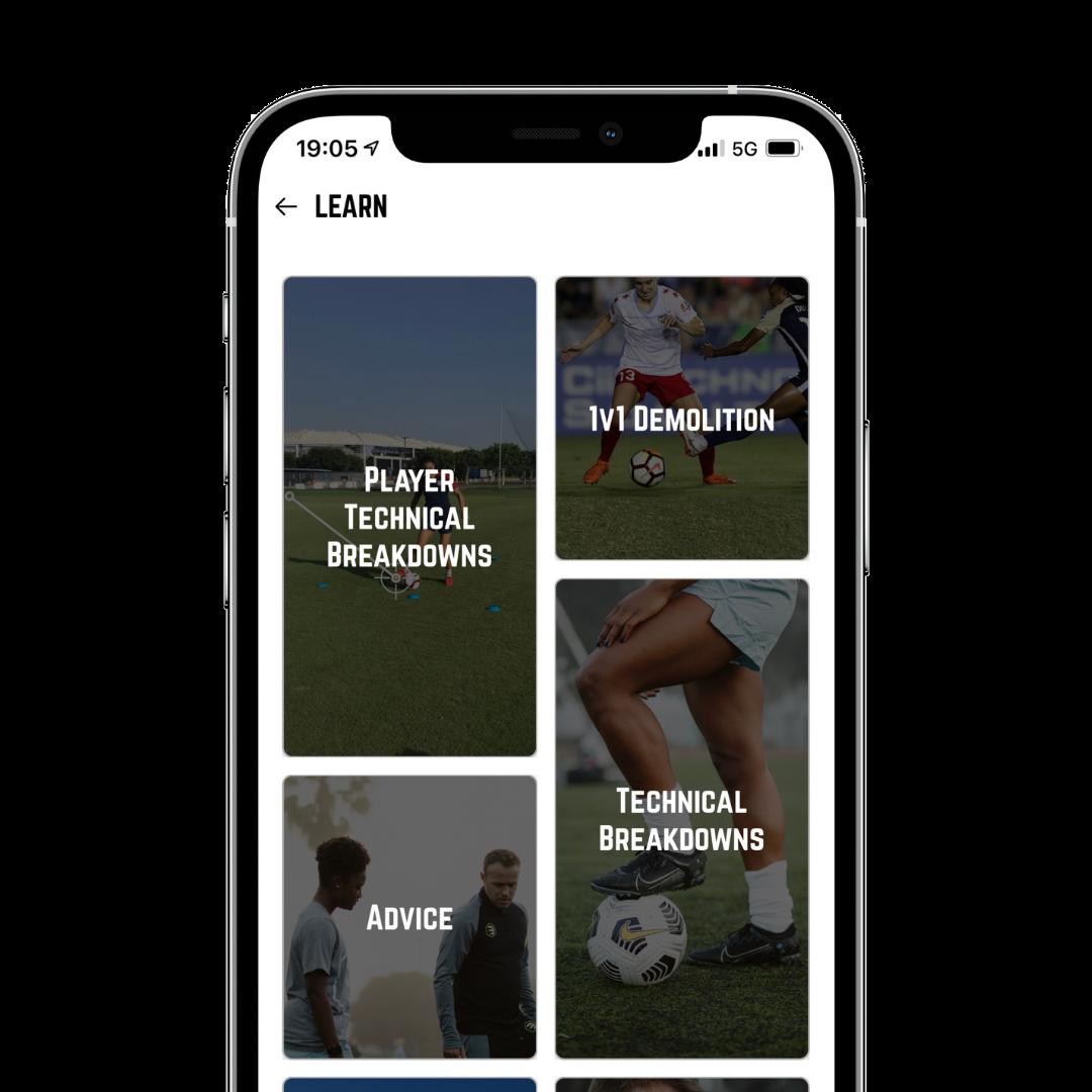 Beast Mode Soccer+ Learn