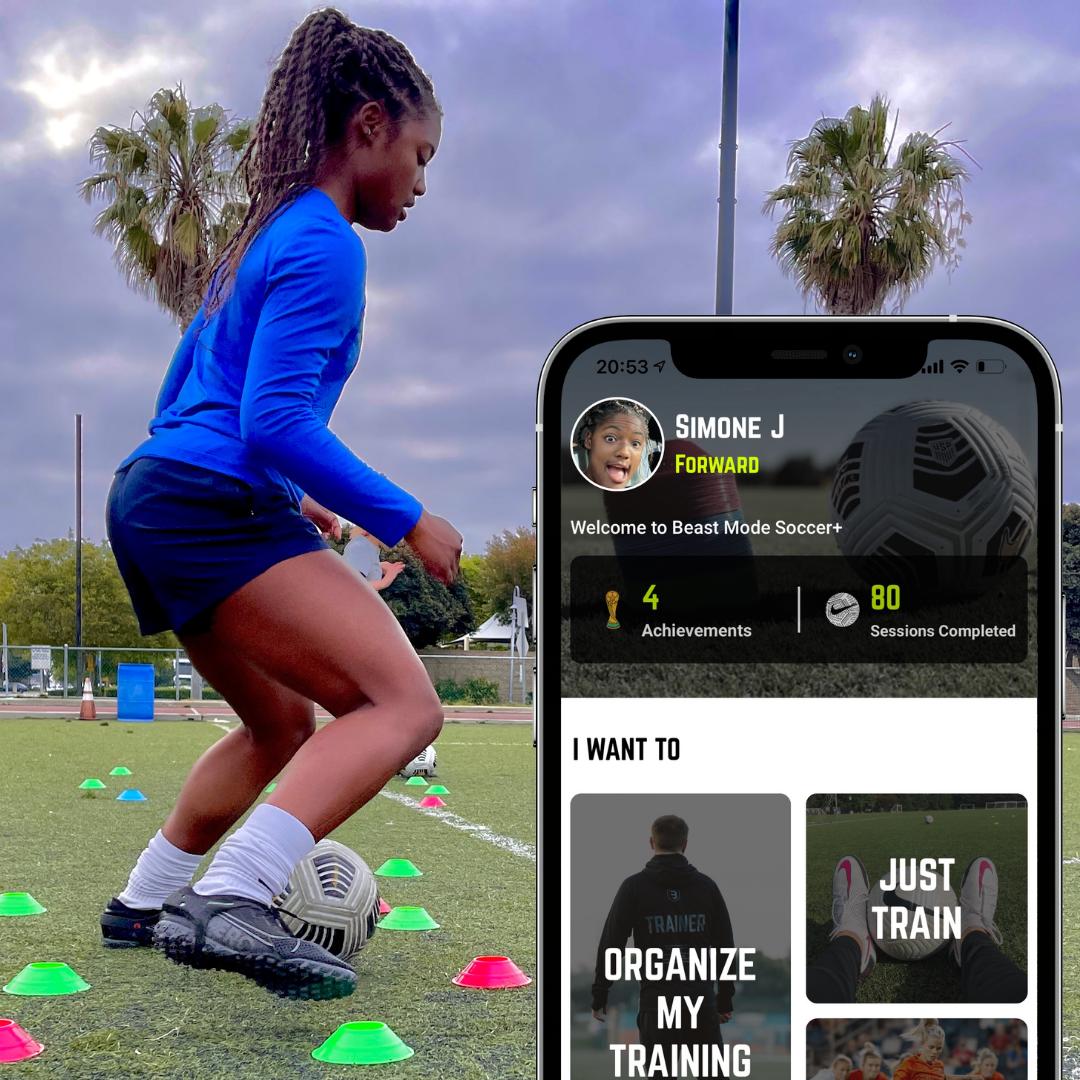 Simone Jackson Beast Mode Soccer