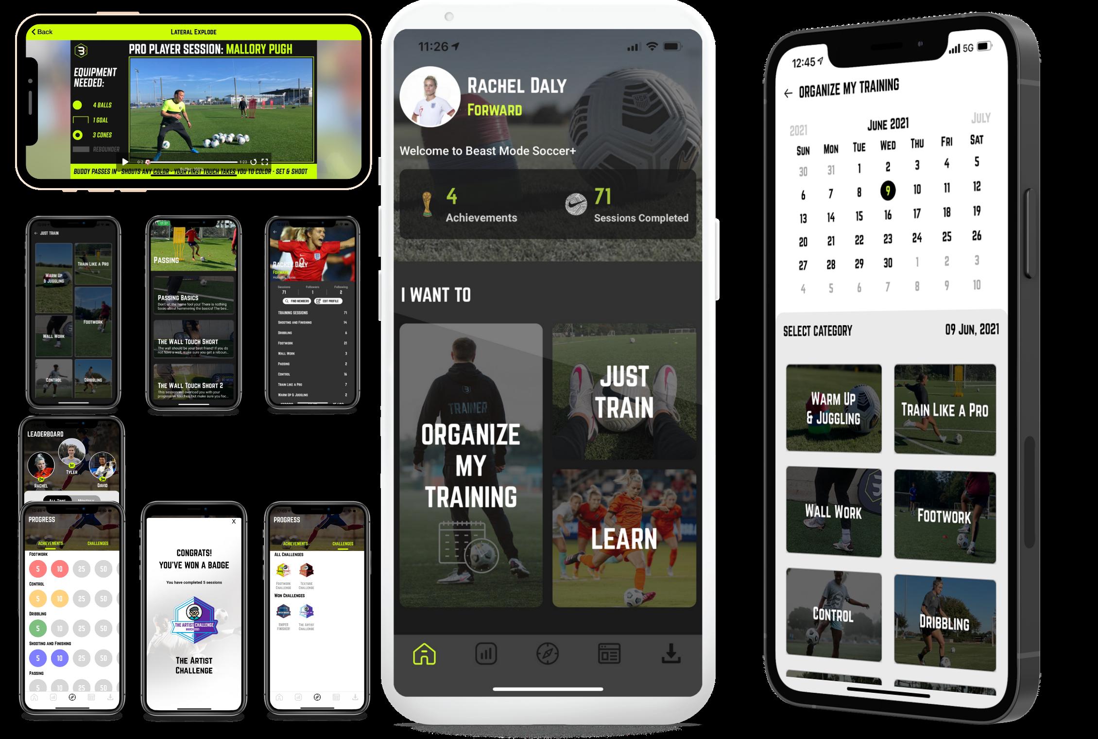 Beast Mode Socer App