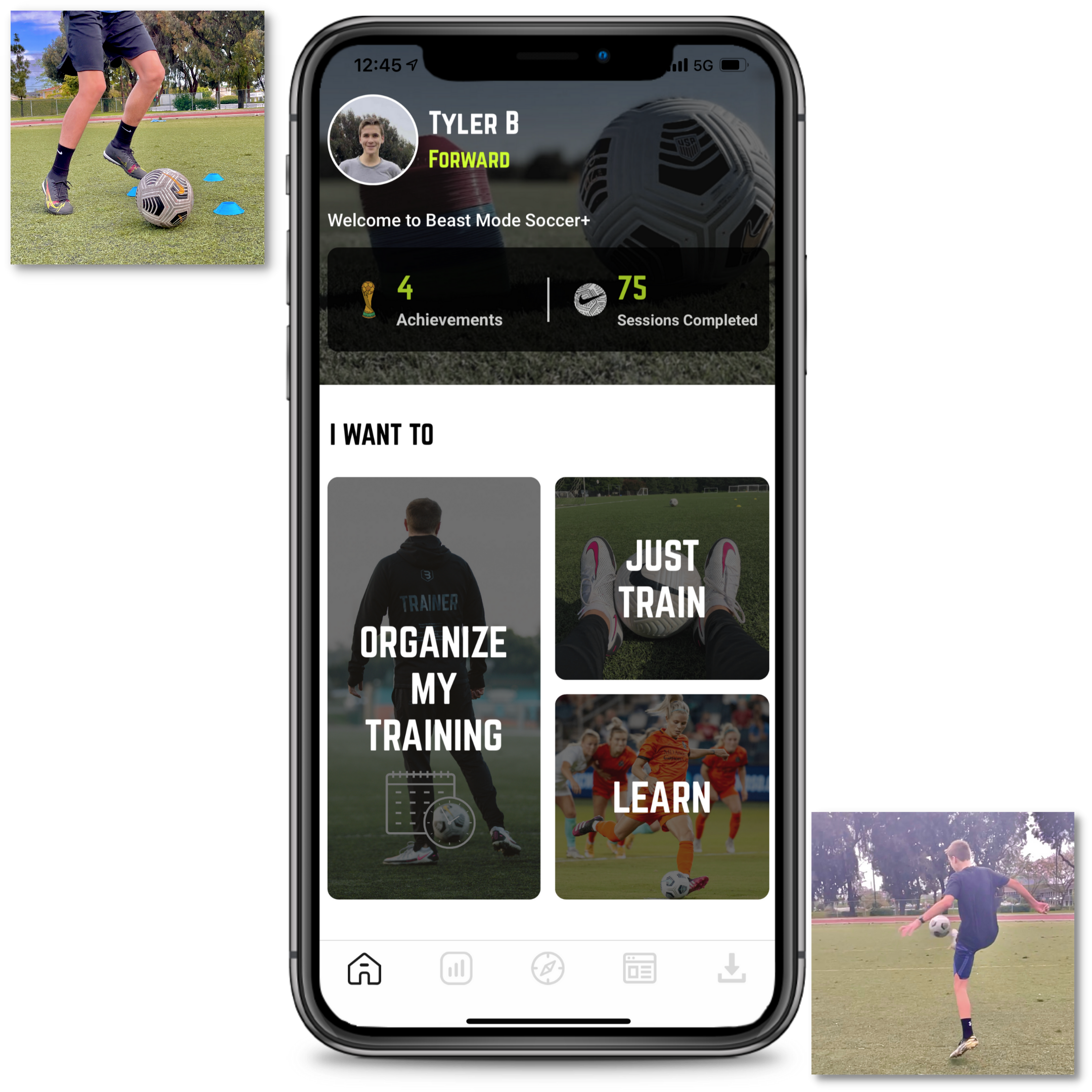 Beast Mode Soccer App